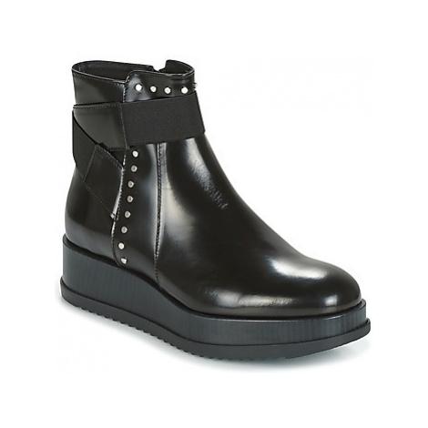 Tosca Blu CIVETTA ABRASIVATO women's Mid Boots in Black