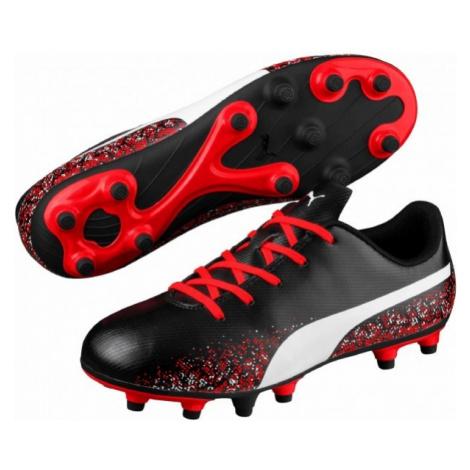 Puma TRUORA FG JR black - Kids' football boots