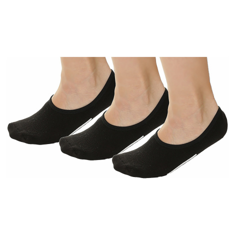 socks Vans Classic Super No Show 3 Pack - Black