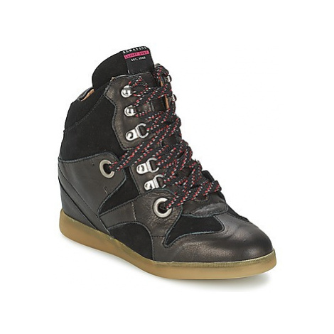 Serafini MANHATTAN women's Shoes (High-top Trainers) in Black