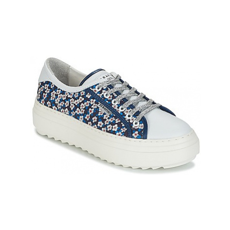 Serafini SOHO women's Shoes (Trainers) in Blue