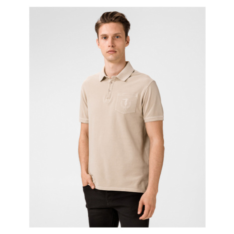 Trussardi Jeans Polo Shirt Beige