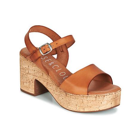 Musse Cloud DENISE women's Sandals in Brown Musse & Cloud