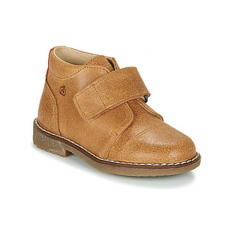 Citrouille et Compagnie LAPUPI boys's Children's Mid Boots in Brown