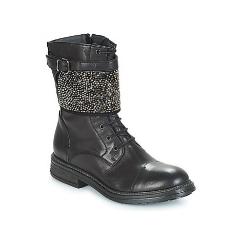 Now NAPOLI women's Mid Boots in Black