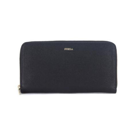 Furla Babylon black saffiano leather wallet men's Purse wallet in Black