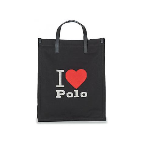 Polo Ralph Lauren I HRT POLO CVS/LTHR women's Shopper bag in Black