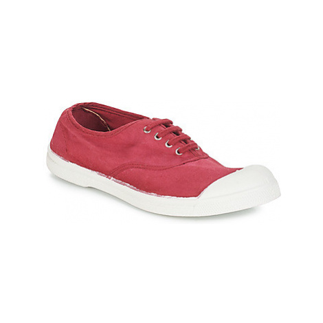 Bensimon TENNIS LACET women's Shoes (Trainers) in Red