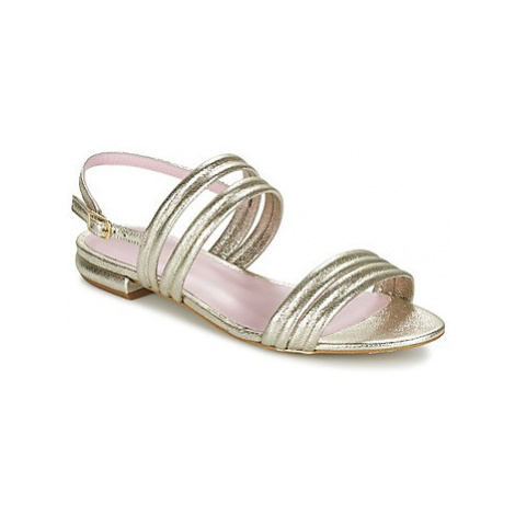 Mellow Yellow VEO women's Sandals in Gold