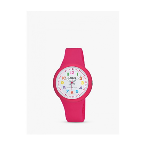 Lorus Children's Silicone Strap Watch