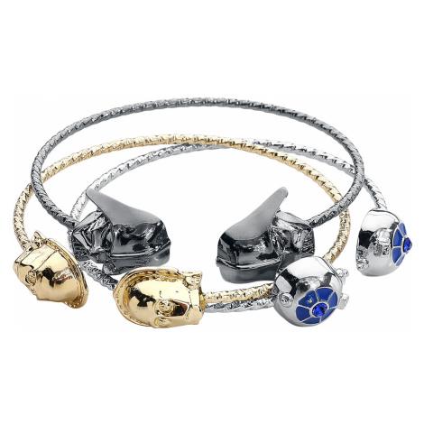 Star Wars - C3PO, R2D2, Darth Vader - Bracelet - silver-coloured