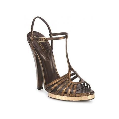 Roberto Cavalli QDS627-PM027 women's Sandals in Gold