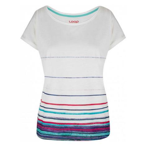 Loap ALBY white - Women's T-shirt