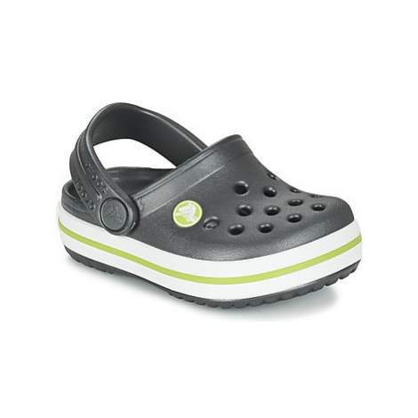 Crocs Crocband Clog Kids boys's Children's Clogs (Shoes) in Grey