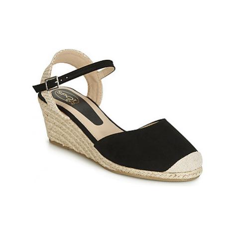 Spot on F2274 women's Sandals in Black
