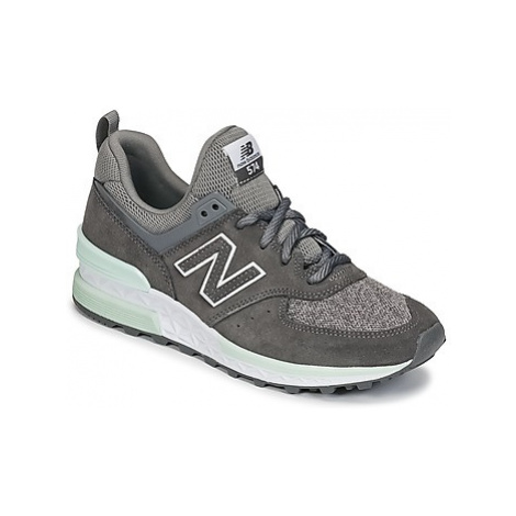 New Balance WS574 women's Shoes (Trainers) in Grey