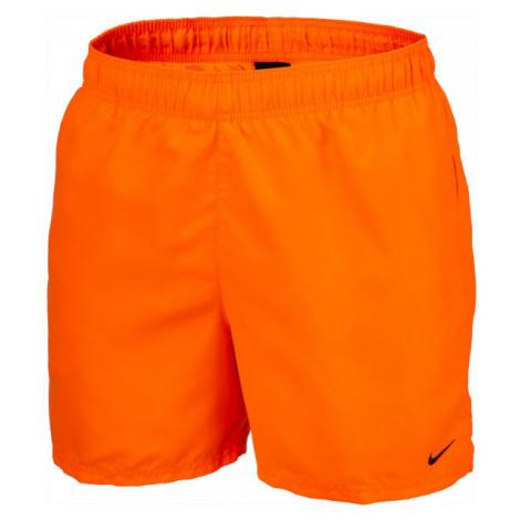 Nike ESSENTIAL SCOOP orange - Men's swim shorts