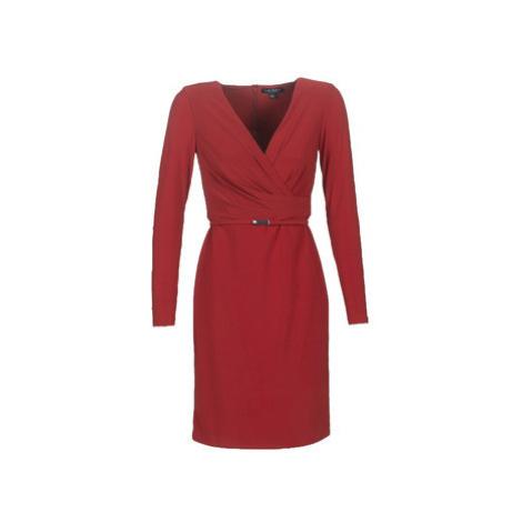 Lauren Ralph Lauren ALEXIE women's Dress in Red