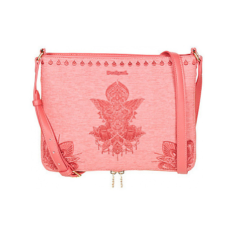 Desigual REP SOFT MEHNDI MOLINA women's Shoulder Bag in Pink