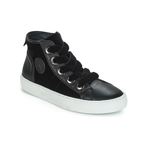 Pataugas Zally women's Shoes (High-top Trainers) in Black