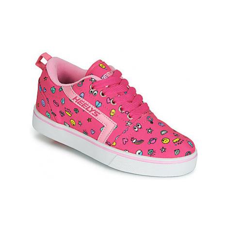 Heelys GR8 PRO PRINTS girls's Children's Roller shoes in Pink