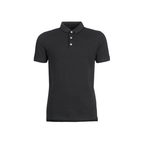 Jack Jones JJEPAULOS men's Polo shirt in Grey Jack & Jones