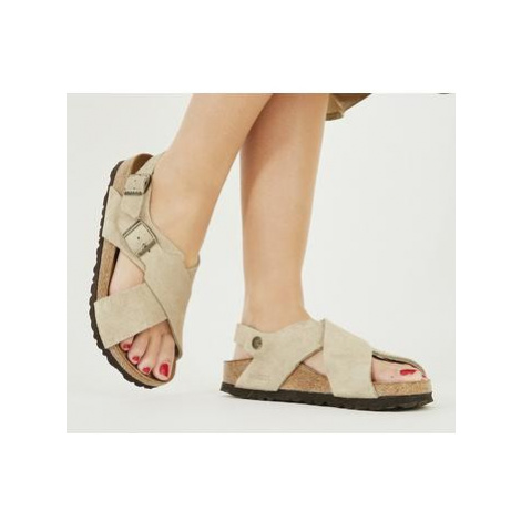 Birkenstock Tulum Cross Sandal TAUPE