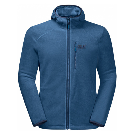 Jack Wolfskin Mens Skywind Full Zip Hooded Fleece