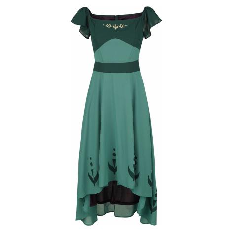 Frozen Anna - Prom Long dress green
