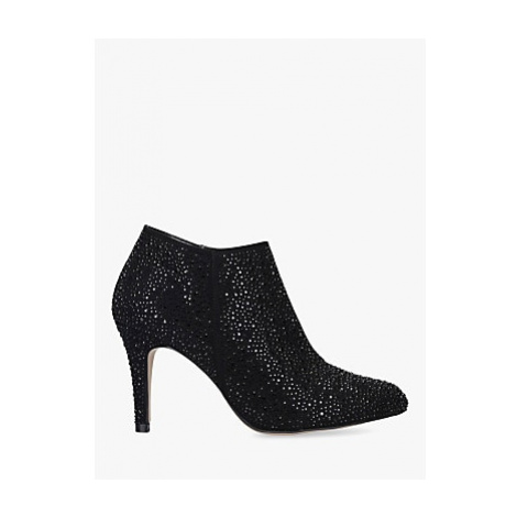 Carvela Serene Stiletto Heel Embellished Ankle Boots, Black