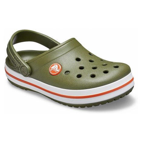 shoes Crocs Crocband Clog - Army Green/Burnt Sienna - unisex junior