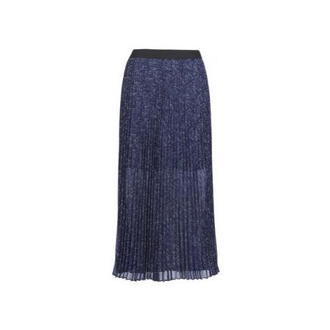 Ikks BN27075-49 women's Skirt in Blue