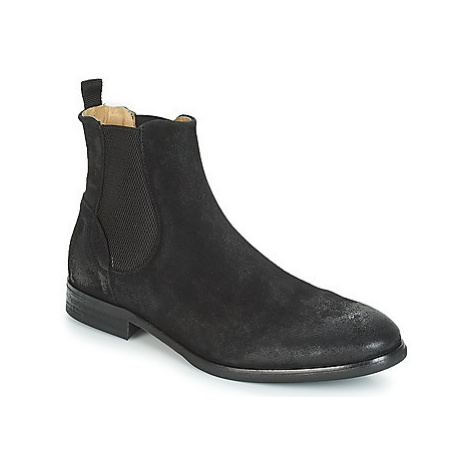 Hudson WATCHLEY men's Mid Boots in Black Hudson London