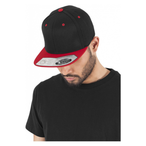 Urban Classics 110 Fitted Snapback blk/red