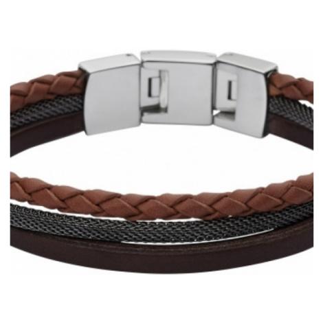 Fossil Jewellery Leather Bracelet JEWEL JF02213040