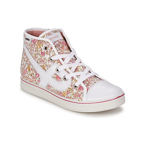 Primigi JUMPY girls's Children's Shoes (High-top Trainers) in Pink