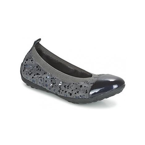 Geox PIUMA BALLERINE girls's Children's Shoes (Pumps / Ballerinas) in Grey