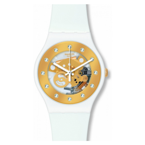 Unisex Swatch Sunray Glam Watch SUOZ148