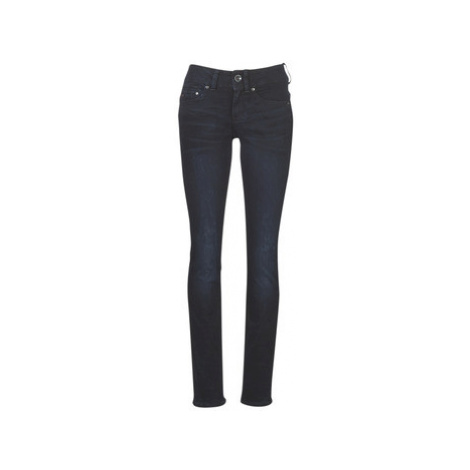 G-Star Raw MIDGE MID STRAIGHT WMN women's Jeans in Blue