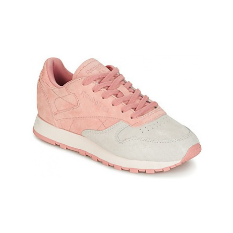 Reebok Classic CLASSIC LEATHER NBK women's Shoes (Trainers) in Pink