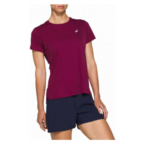 Asics SILVER SS TOP violet - Women's running T-shirt