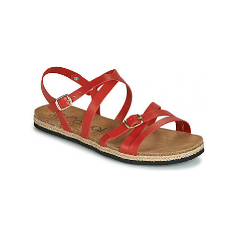 Casual Attitude JALIYABE women's Sandals in Red