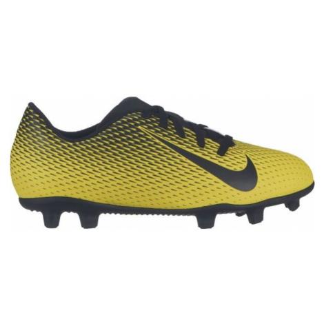 Nike JR BRAVATA II FG yellow - Kids' football cleats