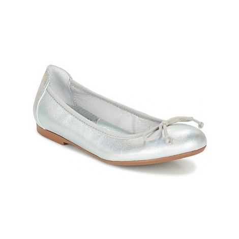 Acebo's SOUTANI girls's Children's Shoes (Pumps / Ballerinas) in Silver