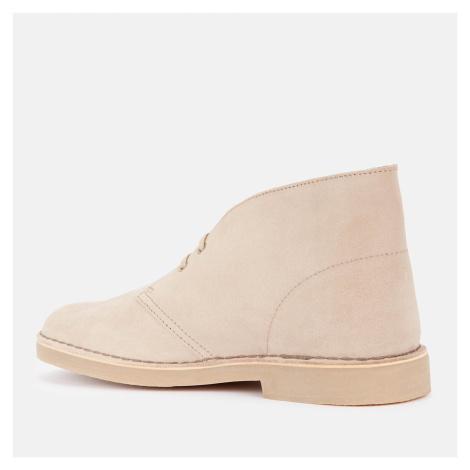 Clarks Men's Desert 2 Suede Boots - Sand - UK