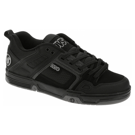 shoes DVS Comanche - Black/Reflective/Charcoal/Nubuck - men´s