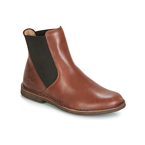 Kickers TINTO women's Mid Boots in Brown