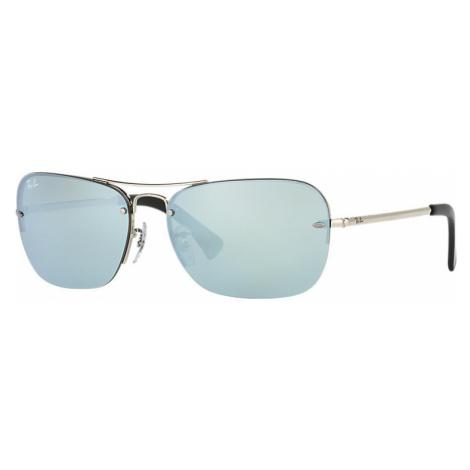 Ray-Ban Rb3541 Unisex Sunglasses Lenses: Gray, Frame: Silver - RB3541 003/30 61-15