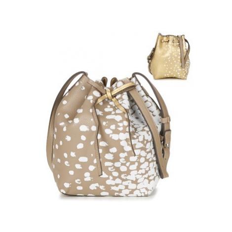 Desigual COMO SALADA women's Shoulder Bag in Gold