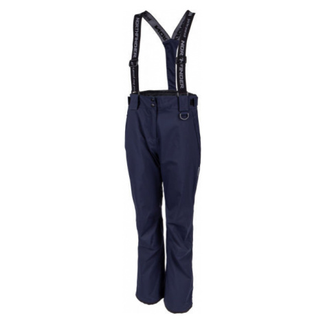 Blue women's insulated trousers
